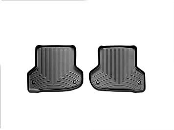 WeatherTech Custom Fit Rear FloorLiner for Audi A3 Black
