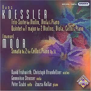 Trio: Suite for Violin Cello & Piano / Sonate 2