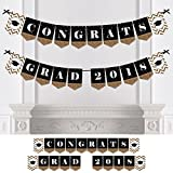 Gold Tassel Worth The Hassle - 2018 Graduation Party Bunting Banner - Gold Party Decorations - Congrats Grad 2018