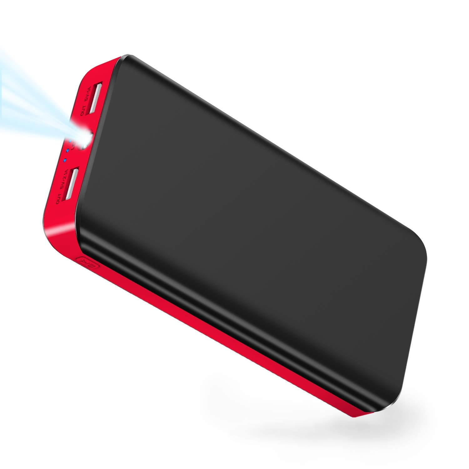 Power Bank 25000mAh LBell Portable Phone Charger External Battery High Capacity with Dual Output Port Emergency LED Flashlight Compatible for iPhone iPad Samsung Huawei Android Tablet PSP Camera by LBell