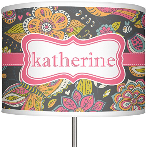 RNK Shops Birds & Butterflies 13'' Drum Lamp Shade Polyester (Personalized) by RNK Shops