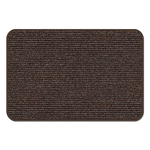 Cheap  House, Home and More Skid-Resistant Heavy-Duty Door Mat - Tuscan Brown -..
