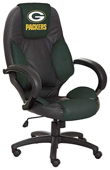Amazon.com: Wild Sports NFL Green Bay Packers Leather Office Chair: Sports  U0026 Outdoors