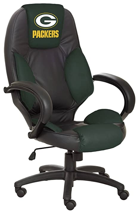 NFL Green Bay Packers Leather Office Chair