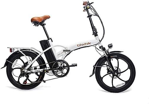 BIWBIK Bicicleta ELECTRICA Plegable Book