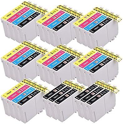 PerfectPrint Compatible Tinta Cartucho Reemplazo Para Epson WF ...