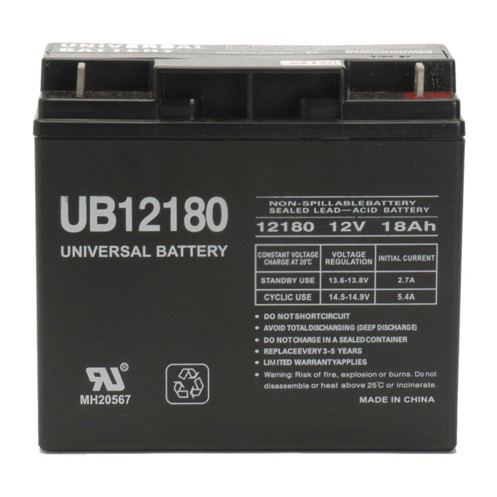 Galleon - 12V 18AH SLA Battery Replaces Notifier NFS-320 Fire Alarm Control  Panel