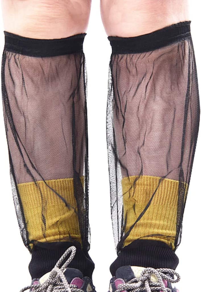 Mosquito Gaiters Cover for Hiking Jungle T TOOYFUL Mesh Leg Gaiters Cover