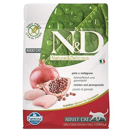 Farmina N&D Grain Free Adult pollo para gatos 300 gr ...