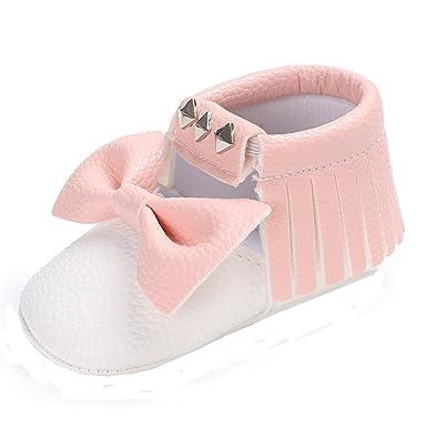 SamMoSon Zapatos de bebé Invierno Antideslizante Primeros ...