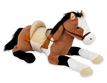 36 Large Huge Giant Stuffed Plush Soft Toy Lying Horse Pony Teddy
