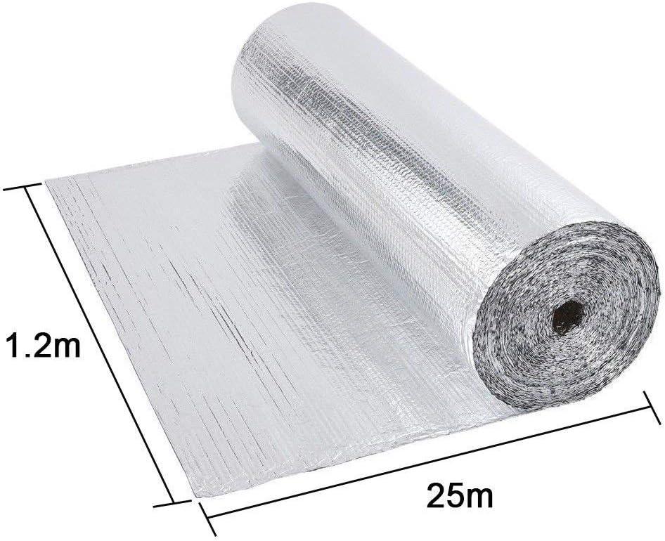 mantiene il calore isolante per tetto 3-4 mm Dripex Pellicola isolante doppia in alluminio
