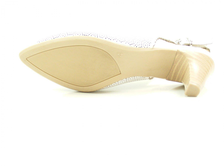 CAPRICE Weiß Damen 29601 Slingback Sandalen Weiß CAPRICE 5aa9a4