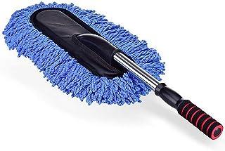 Cepillo de limpieza Chenille para coche Fregona de microfibra con mango telescópico No lastime la pintura Mas duradero Fácil de limpiar