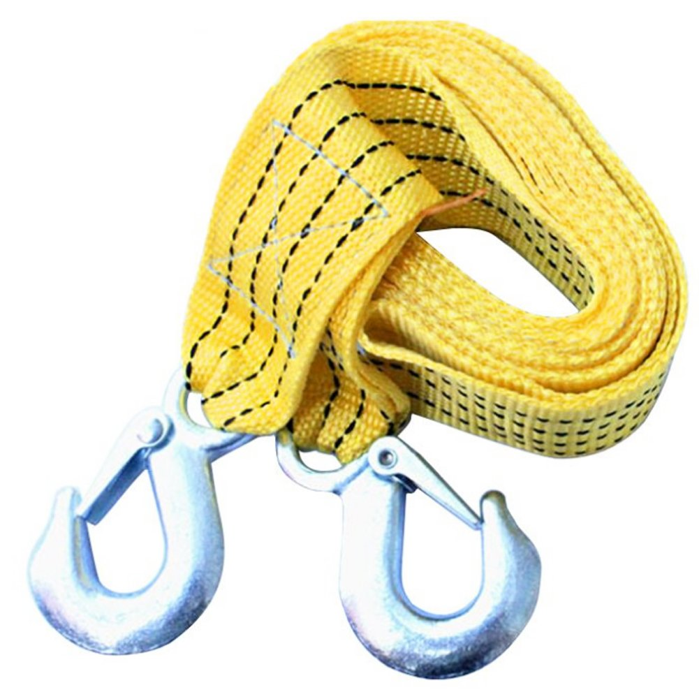 TrifyCor – Tow Rope, Strap Remoling Heavy Vehicles up to 3 Tonnes (3 m Long) Fluorescent Colour