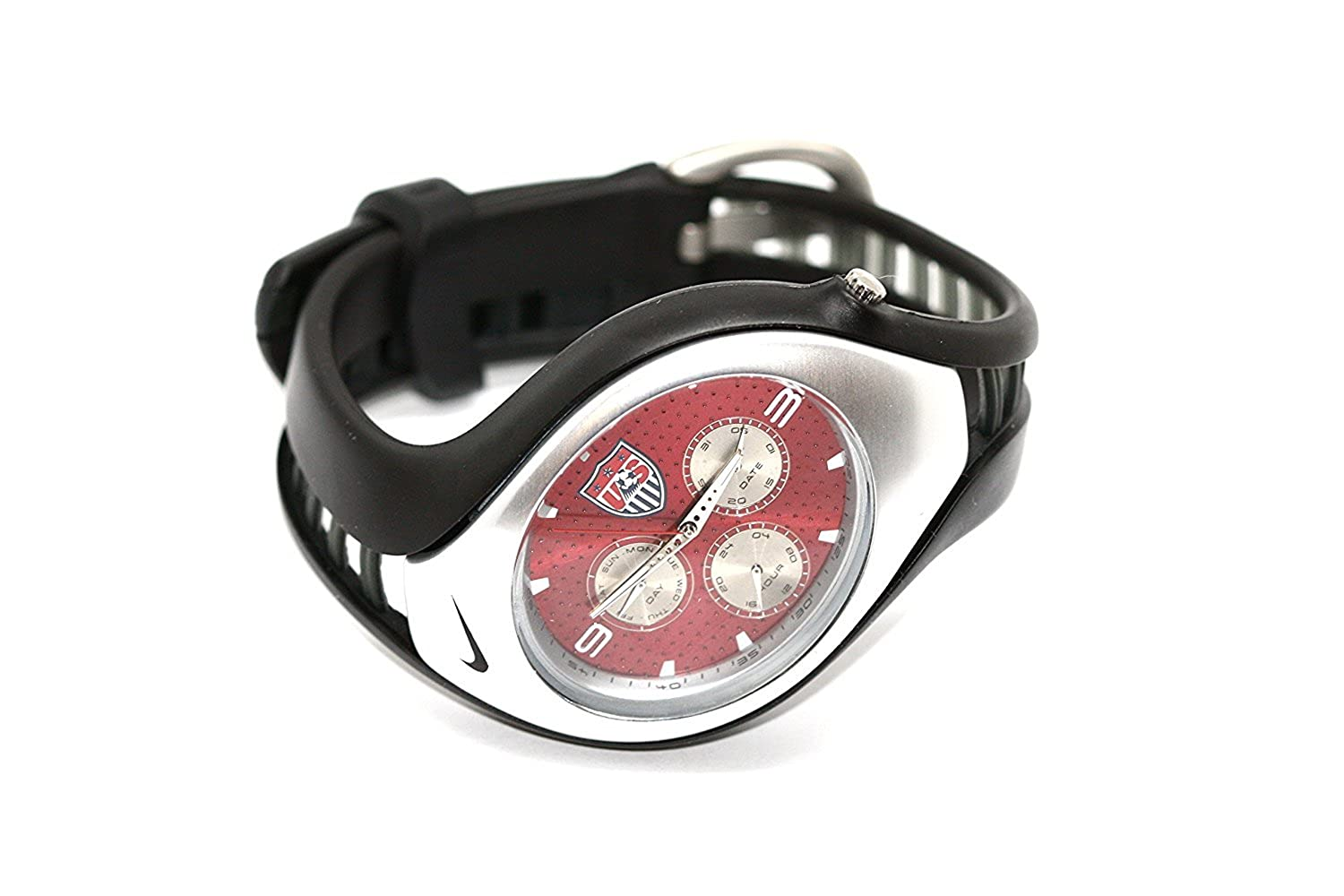 ac33b5f9083e Amazon.com  NIKE Triax Swift 3I USA Soccer Football Team Sport Watch   Watches