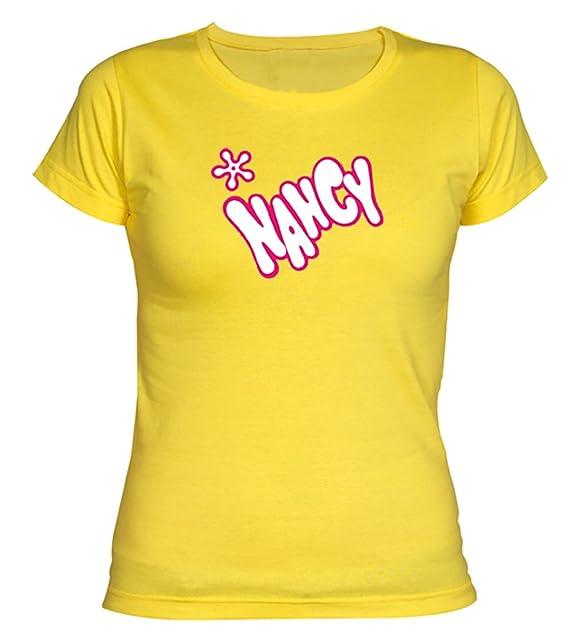 Camisetas EGB Camiseta Chica Nancy ochenteras 80Žs Retro: Amazon.es: Ropa y accesorios