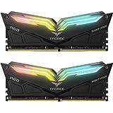 TEAMGROUP T-Force Night Hawk RGB 3200MHz 16GB Kit (2x8GB) CL16 DDR4 SDRAM (PC4-25600) Desktop Memory Module Ram TF1D416G3200H