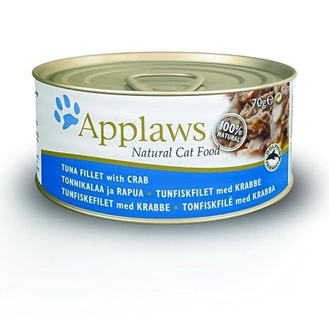 Applaws Tuna and Crab Can Adulto Comida para Gato 70 Gramos x 24