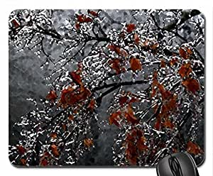 japanese_maple Mouse Pad, Mousepad (Beaches Mouse Pad, 10.2 x 8.3 x 0.12 inches)