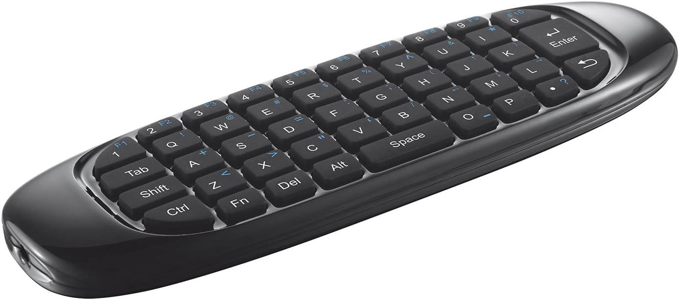Trust Gesto Wireless Tastatur Und Air Maus Für Smart Tv Elektronik