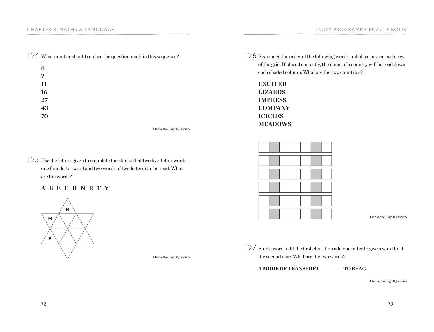 Today Programme Puzzle Book Bbc Author 9781788400589 Amazon Com Books