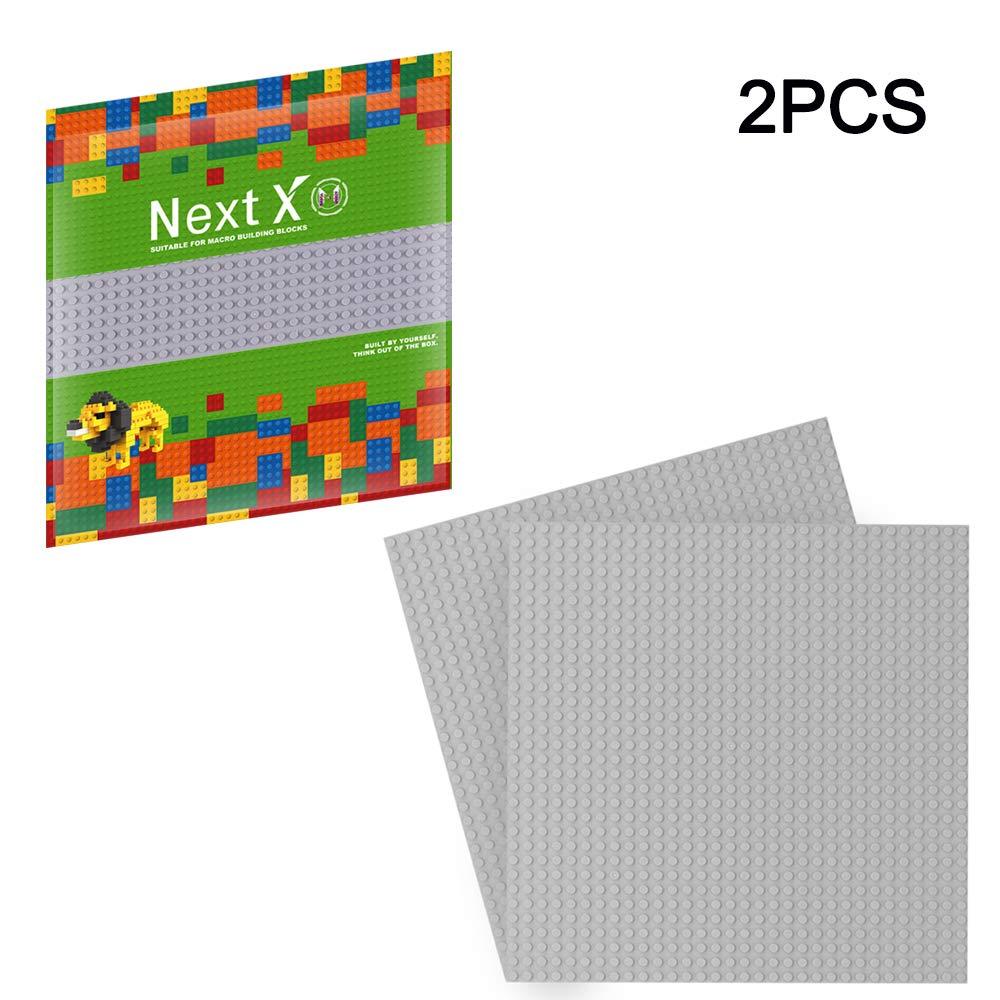 LEGO 7281 SET 2 Piastre Rettilineo e Curva 25x25