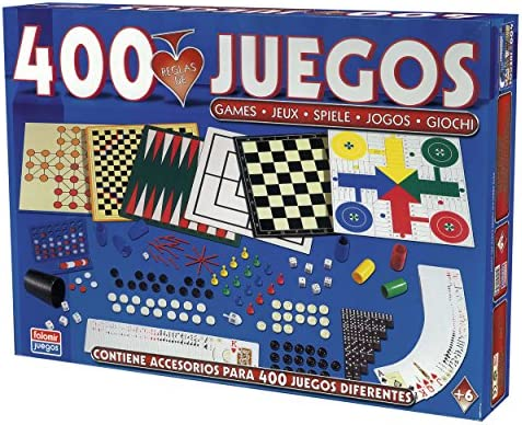 Falomir-400 400 Juegos Reunidos (32-1317) , color/modelo surtido: Amazon.es: Juguetes y juegos
