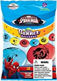 Party Banner Balloons 10 Count Marvel's Spider-Man QuickLink Banner Balloons, 12-Inch
