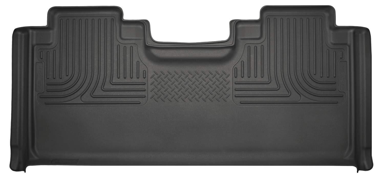 Husky Liners 19361 Black Second Seat Fits 15-19 F150, 2017-19 F250/F350 SuperCab