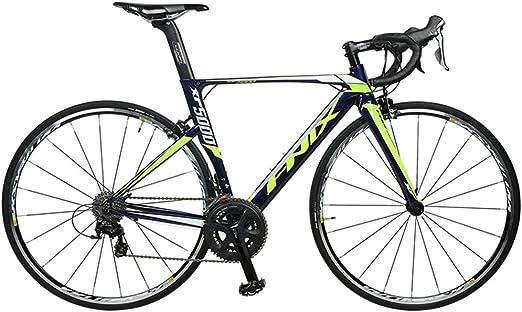 NENGGE Bicicleta de Carretera, 22 Velocidades Aluminio Marco ...
