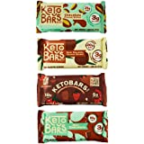 Keto Bars The Original Keto Snack Bar, Gourmet Simple Ingredients Low Carb, No Sugar, Rich in Ketogenic Fats, The Perfect Ket