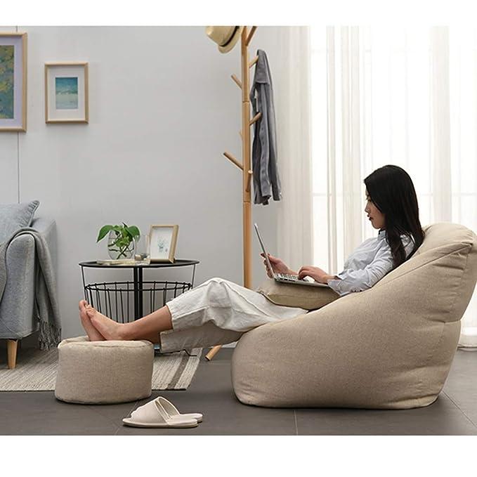 Amazon.com: Puf para balcón, sofá perezoso, creativo para ...