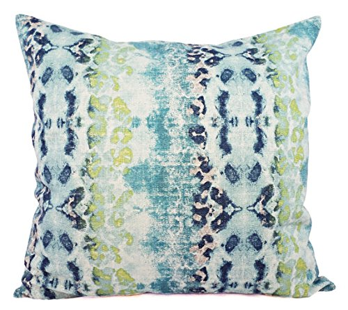 Blue Grey Green And Beige Pillow Shams Ikat Pillow Covers Blue And Green Pillow Cases Decorative Pillow