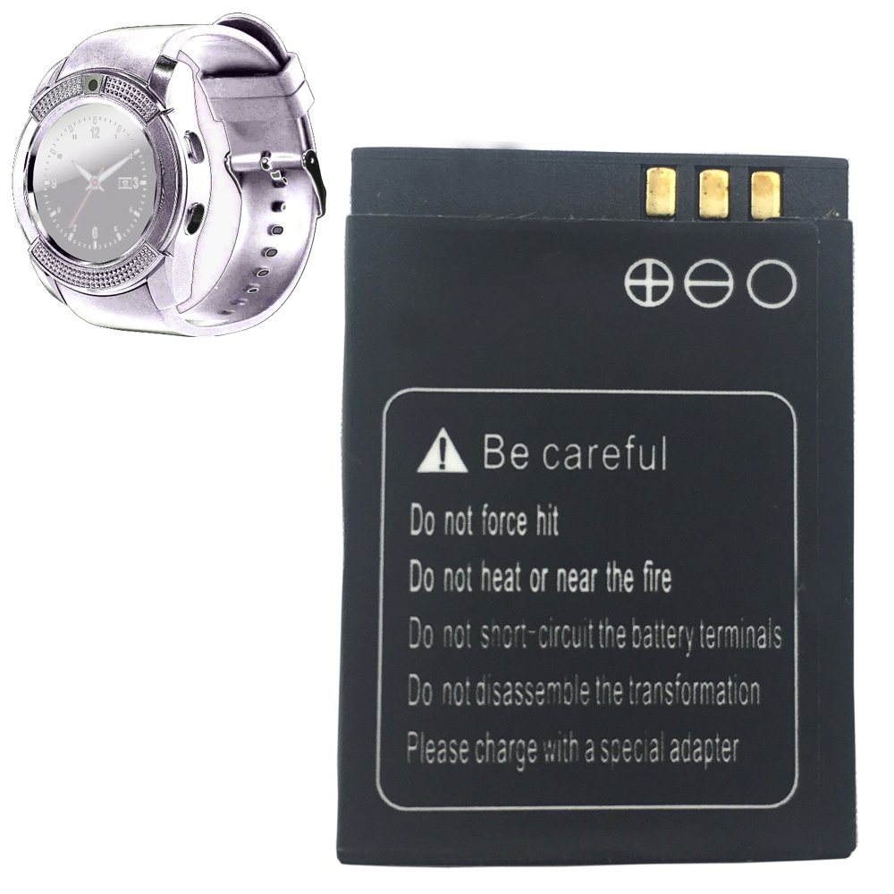 OCTelect bateria v8 smartwatch batería de Litio Recargable ...