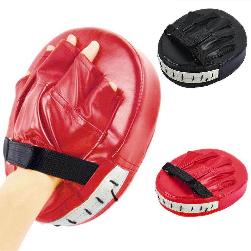 Lorsoul Kick Boxhandschuhe Pad Schlags-Ziel-Beutel-M/änner MMA PU Karate Muay Thai Free Fight Sanda Trainings Erwachsene Kinder Zubeh/ör