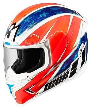 Icono fuselaje Pro Maxflash rojo/azul/blanco casco de moto