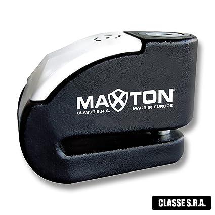 max-ton Max 10 Robo Sra disco Lock eje Ø10 + Alarma 120 db ...
