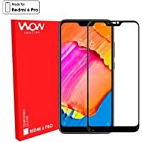 WOW Imagine Full Glue 5D Edge-to-Edge Screen Protection Tempered Glass For XIAOMI REDMI 6 PRO