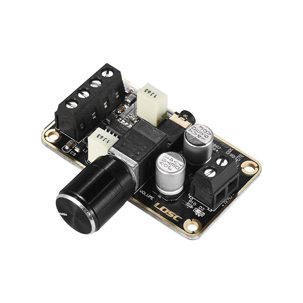 Muslady Modulo Amplificatore Digitale Audio 5W + 5W Dual-channel Stereo Mini Scheda Amplificatore Amplifica DIY Scheda di Circuito per Altoparlanti 1