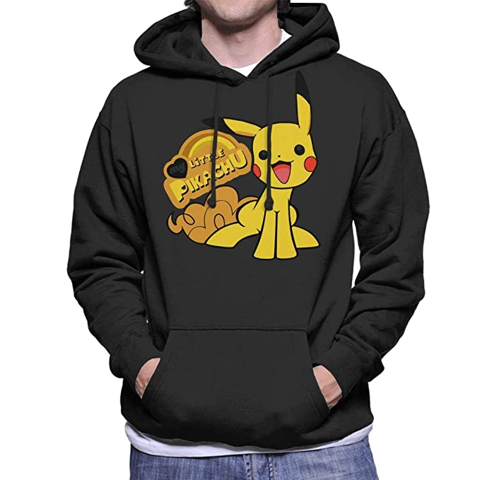 Pokemon My Little Pikachu Pony Mix Mens Hooded Sweatshirt