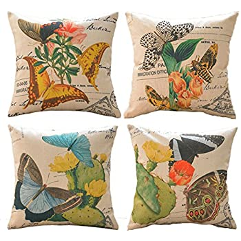 Amazon Sykting Throw Pillow Covers 18 x 18 Square Pillow