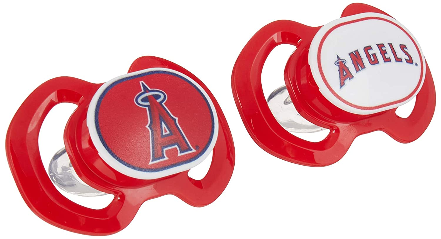Baby Fanatic 2-Piece Gen. 3000 Pacifier, Los Angeles Angels