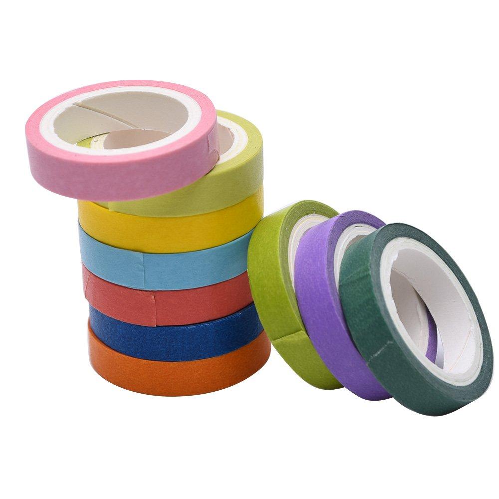 10 Rolls Decorative Washi Tape DIY Sticker