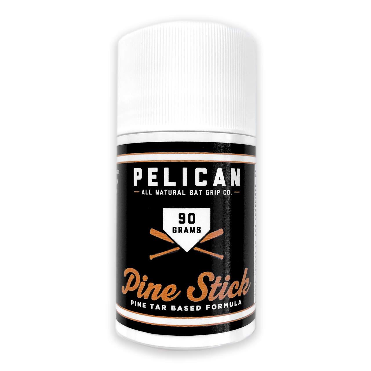 Pine Tar Baseball Stick Pelican Bat Wax Tar XL for Baseball or Softball Bat Enhanced Grip - 90 Gram by Pelican