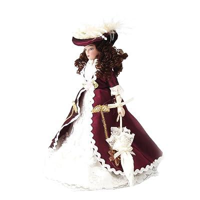 1/12 Dollhouse Señora Muñeca Figura Modelo de Porcelana para Casa de Muñecas: Juguetes y juegos