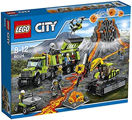 LEGO City - Volcán: Base de exploración (60124): Amazon.es ...