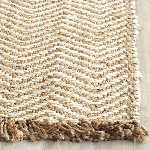 Safavieh Natural Fiber Collection Nf458a Hand Woven Bleach