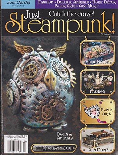 (Just Cards Presents Just Steampunk Magazine Volume 10 2018 )