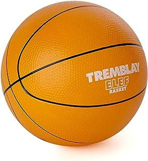 Visiodirect Ballon Basketball Mousse ELEF' Basket - Diamètre: 20cm -Poids: 300g